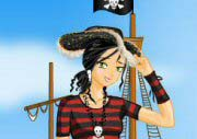 Dress Up Pirate Girl