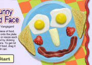Funny Food Face