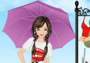 Girl With Umbrella Game