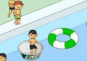 Jump To Pool Game