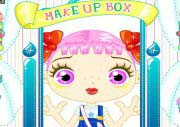 Little Cute Girl Make Up