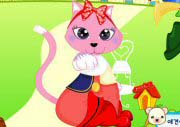 Pink Cat Dress Up