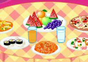 Prepare Meal Table Game