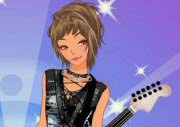 Rock Girl Dress Up Game