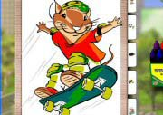 Surfs Up Stuart Little 2 Coloring Book