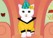 White Kitty Dressup