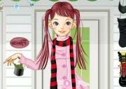 Winter Clothes Dress Up Game